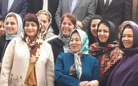 ديدار نوروزي با اعضاي كانون زنان بازركان و اعضاي اتاق فكر