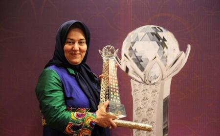 افتخاري براي ايران .سيده فاطمه مقيمي