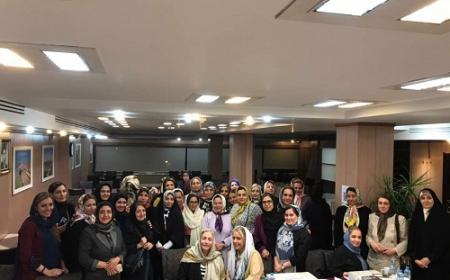 مجمع ساليانه كانون زنان بازرگان تهران